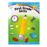 Home Workbooks Gold Star Edition Activity Book: First Grade Skills, 64 Pages, Grade 1