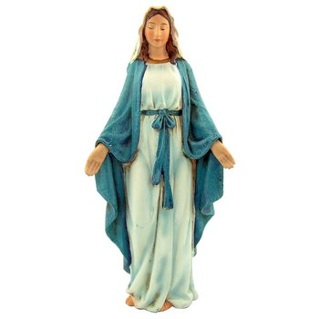 Roman, Our Lady of Grace Figurine, Resin, 6 inches