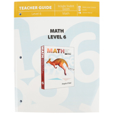 Master Books, Math Lessons for a Living Education Level 6 Teacher Guide, Paperback, Grades 6