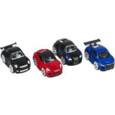 Master Toys and Novelties, Inc., Mini Sports Car, Die-Cast Metal, 2 1/2 inches