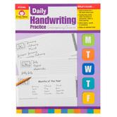 Evan-Moor, Daily Handwriting Practice Contemporary Cursive, Teacher's, 112 Pages, Grades K-6