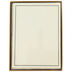 Peter Pauper Press, Inc., Stationery Set, Cream and Black, 30 Sheets with Envelopes