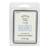 D&D, Balance Acai & Palm Wood Wickless Fragrance Cubes, Blue, 2 1/2 ounces