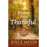 Power of Being Thankful, by Joyce Meyer
