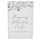 Duncan and Stone, Pregnancy Milestone Cards, 4 1/4 x 6 1/4 x 3/4 inches, 30 Cards