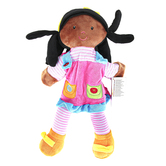 The Puppet Company, Dark Skin Girl Puppet, 15 inches