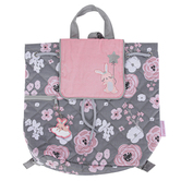 Stephen Joseph, Bunny & Flower Quilted Backpack, 12 x 13 1/2 inches
