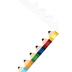Renewing Minds, Pencils Die Cut Trimmer, 38 Feet, Wooden Pencil Tips
