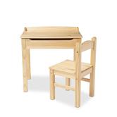 Melissa & Doug, Lift-Top Desk & Chair, Wood, Honey, 26 3/4 x 10 1/4 x 19 inches