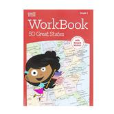 Retail Centric Marketing, Step Up Kids 50 Great States Workbook, Paperback, Grade 1