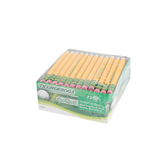 Ticonderoga, Golf Pencils with Eraser, Pre-Sharpened #2 Yellow Woodcase, 72 per box