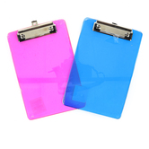 Bazic Products, Memo Size Clipboard, Plastic, Various Colors, 6 x 9 inches