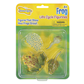 Insect Lore, Frog Life Cycle Figurines, Multi-Colored, Ages 4 Years and Older, 4 Pieces