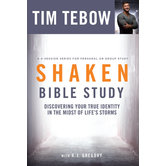 Shaken Bible Study, by Tim Tebow and A.J. Gregory, Paperback