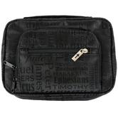 Dicksons, Books of the Bible Organizer Cover, Canvas, Black, Multiple Sizes Available