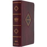 NIV Grace & Truth Study Bible, Personal Size, Imitation Leather, Burgundy