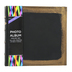 Brother Sister Design Studio, Black and Gold Burnished Photo Album, 9.25 x 8.50 Inches, 160 Photo Slots