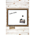 The Board Dudes, Cork-Framed Magnetic Dry Erase Board, 18 x 22 Inches, White, 1 Board