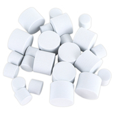 Playside Creations, Foam Marshmallows, White, Pack of 200