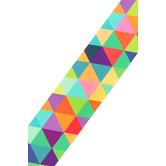 Renewing Minds, Wide Border Trim, 38 Feet, Multi-Colored Triangles