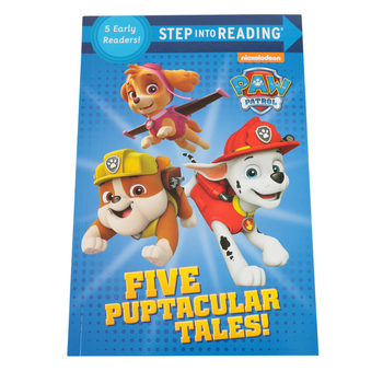 PAW Patrol, Five Puptacular Tales!, Step Into Reading, by Various Authors, Paperback