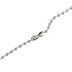 Spirit & Truth, Matthew 5:44, Love Your Enemies Crucified Cross, Men's Necklace, Stainless Steel, 24 Inches
