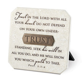 Resin Plaque - Proverbs 3:5-6