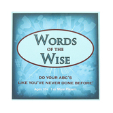 Griddly Games, Words of the Wise Card Game, Ages 10 and Up, Pack of 135 Cards