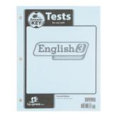 BJU Press, English 3 Tests Answer Key (2nd Edition)