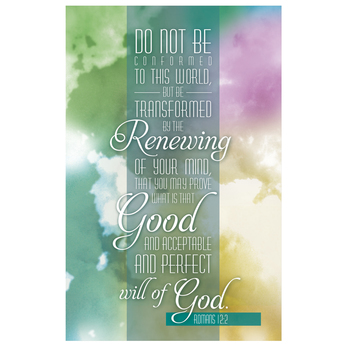 Salt & Light, Do Not Be Conformed Church Bulletins, 8 1/2 x 11 inches Flat, 100 Count