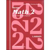 Saxon Math 2 Student's Meeting Book