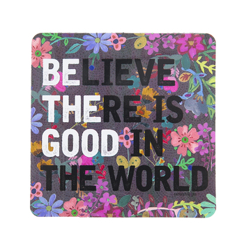 Natural Life, Be The Good Square Sticker, Vinyl, 4 inches