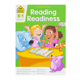 School Zone, Reading Readiness Deluxe Edition Workbook, Paperback, 64 Pages, Grades K-1