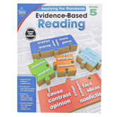 Carson-Dellosa, Evidence-Based Reading, Applying the Standards, Reproducible Paperback, Grade 5