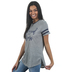 Southern Grace, Blessed Mama, Women's Short Sleeve T-shirt, Gray, Small