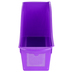 Storex, Large Book Bin, Purple, 14.30 x 5.30 x 7 Inches, 1 Piece