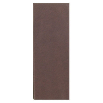 Seaman Paper Co., Tissue Paper, Chocolate Brown, 20 x 20 inches, 8 sheets