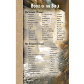 North Star Teacher Resources, Books of the Bible Memory Cards, 4 x 6.5 Inches, Pack of 12