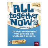 Group Publishing All Together Now for Ages 4-12 Volume 2 Winter, 13 Sunday School Lessons, 154 Pages