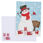 Brother & Sister Design Studio, Snowman Christmas Boxed Cards, Set of 20