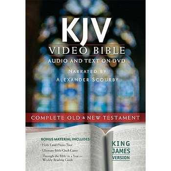 KJV Video Bible, Read by Alexander Scourby, DVD