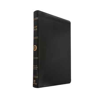 ESV Thinline Bible, Bonded Leather, Black