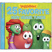 25 Favorite Very Veggie Tunes, by VeggieTales, CD