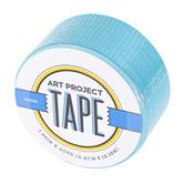 Aqua Blue Art Project Tape, 1 7/8 inches x 20 yards, 1 Roll