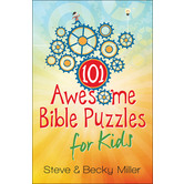 Harvest House, 101 Awesome Bible Puzzles for Kids, by Steve and Becky Miller, Paperback