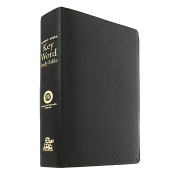 ESV Hebrew-Greek Key Word Study Bible, Genuine Leather, Black