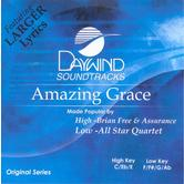 Amazing Grace, Accompaniment Track, As Made Popular by Brian Free & Assurance, CD