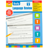 Evan-Moor, Daily Language Review, Grade 4, Teacher's Edition, Paperback, 136 Pages