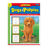 Draw & Color Dogs & Puppies by Nolon Stacey