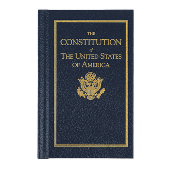 Little Books of Wisdom, The Constitution of the United States, Hard Cover, 36 Pages, Grades 4-Adult